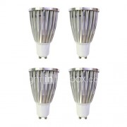 6W GU10 LED-spotlampen MR16 1 COB 480 lm Warm wit Wit 3000-3500/6000-6500 K AC 220-240 V