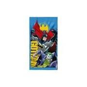 Toalha de Banho Aveludada Transfer Batman - Lepper