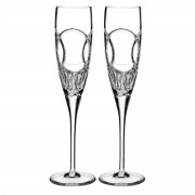 Waterford Wedding vows flute pair