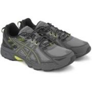 Asics GEL-VENTURE 6 Running Shoes For Men(Grey, Yellow)