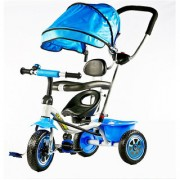 OH BABY Duster Tricycle with Cycle with Canopy COLOR (BLUE)SE-TC-74