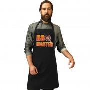 Shoppartners BBQ Master barbecueschort/ keukenschort zwart heren - Action products