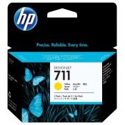HP 711 3-PACK 29-ML YELLOW INK CARTRIDGE - CZ136A
