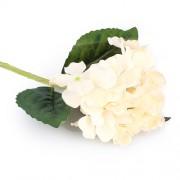 Floare artificială Hortenzie albă