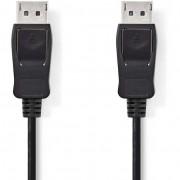 Nedis DisplayPort 1.2 összekötõ kábel 2 m - fekete