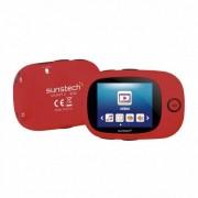 SUNSTECH Reproductor Multimedia Portatil - SPORTYII 8GB Rojo