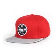 MEATFLY baseball sapka - Troop - C-Red - MEAT006
