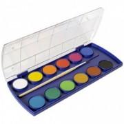Acuarele 12 culori cu pensula Pelikan