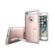 Spigen Coque iPhone 7 8 Spigen Slim Armor - Or Rose