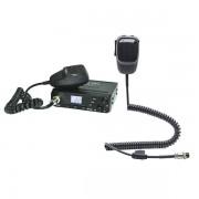 Kit Statie radio CB Albrecht AE 6199, ASQ cu Microfon Dual Mike, Bluetooth, 6 pini
