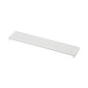 Beslag Design Ventilationsgaller 598x125 vit