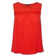 Vero Moda Bluză pentru femei Alex is SL Top Wvn Fiery Red L