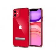Etui Spigen Ultra Hybrid S do Apple iPhone 11 Crystal Clear + Szkło Alogy