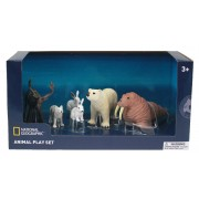 Set 6 figurine Animalute polare National Geographic, 3 ani+