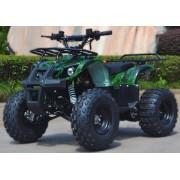QUAD CAMO 110 cc, motor pe benzină în patru timpi, motor în patru timpi, pornire electrică, camuflaj