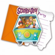 Invitatii party Scooby Doo Colorful