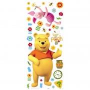 Crearreda set 34 adesivi maxi winnie the pooh e i suoi amici originali disney