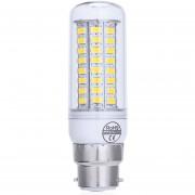 AC 220V B22 6W 550 - 600LM SMD 5730 LED Maíz Luz Con 72 LEDs -Luz Blanca Caliente