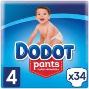 Dodot Fraldas Dodot Pants T4 34 uds