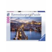 Puzzle Praga Noaptea, 1000 Piese Ravensburger