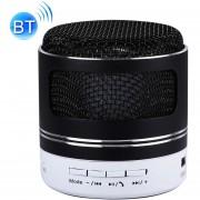 Portátil Mini Altavoz Bluetooth, Construido En El MIC Para El IPhone, Samsung, HTC, Sony Y Otros Smartphones (negro)