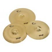 Stagg CXA Cymbal Set Brass Starter