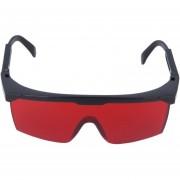 ER Hay Láser Rojo Montura De Las Gafas De Protección-Rojo.
