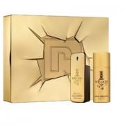 1 Million - Paco Rabanne gift set profumo 100 ml EDT SPRAY + deodorante spray 150 ml