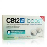 Meda Pharma Spa Cb12 Boost Eucaliptol White 10 Chewin Gum Per Alitosi