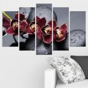 Декоративeн панел за стена с орхидеи и дзен мотиви Vivid Home