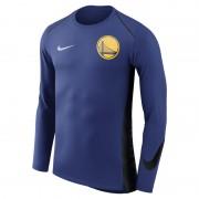 Golden State Warriors Nike Hyper Elite NBA-Langarmoberteil für Herren - Blau