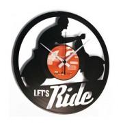 Disc'O'Clock Orologio Moderno Da Parete Let'S Ride