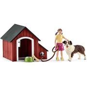 Schleich 42376 Kutyaház kiegészítőkkel