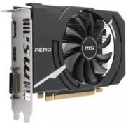 Видео карта MSI Radeon RX 550, 2GB, AMD Radeon RX 550 AERO ITX 2G OC, PCI-E 3.0, GDDR5, 128 bit, Display Port, HDMI, DVI