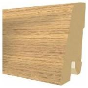 Plinta MDF Egger 60x17 mm, 2,4 m, culoare Stejar Valley color