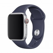 Devia Řemínek pro Apple Watch 42mm / 44mm - Devia, Sport Midnight Blue