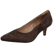 Clarks Women's Sage Black Pumps - 6 UK/India (39.5 EU)