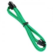 Cablu prelungitor BitFenix Alchemy 4-pini ATX12V, 45cm, green/black, BFA-MSC-4ATX45GK-RP