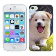 Husa iPhone 4S Silicon Gel Tpu Model Sweet Puppies