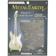 Fascination Metal Earth Instruments Electric Lead Guitar 3D Model