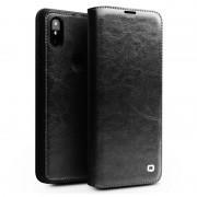 Qialino Classic Xiaomi Mi Mix 3 Flip Leather Case - Black