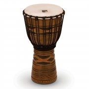 "Toca Percussion Origins Djembe TODJ-10AM, 10"", African Mask #AM"