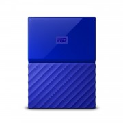 "HDD extern WD, 1TB, My Passport, 2,5"" USB 3.0, albastru"