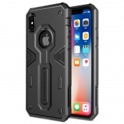 Capa Híbrida Nillkin Defender II para iPhone X / iPhone XS - Preto