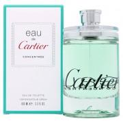 Cartier Eau De Cartier Concentree' Eau De Toilette 100 Ml Spray (3432240008213)
