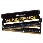 Mémoire RAM Corsair Vengeance SO-DIMM DDR4 8 Go (2 x 4 Go) 2400 MHz CL16 - CMSX8GX4M2A2400C16