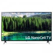 Телевизор LG 65SM8500PLA, 65 инча (3840x2160) ELED, DVB-C/T2/S2, Nano Cell технология, Alpha 7 Gen2 процесор, 4K Cinema HDR, ThinQ AI, Wi-Fi