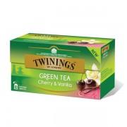 Twinings Green Cherry Vanilla ceai verde cu cirese si vanilie 25 pliculete