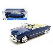 1949 Ford Convertible Gray Diecast Car Model 1:18