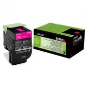 LEXMARK 802M Cartridge for CX310dn/310n/410de/410dte/410e/510de/510dhe/510dthe - 1 000 pages, Magenta (80C20M0)